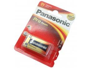 Baterie Panasonic Pro Power 9V 6LR61 Alkaline 1ks