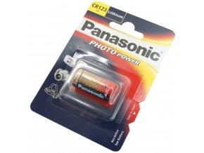 Baterie Panasonic CR-123 3V Lithium 1ks