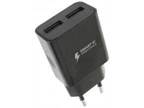 Síťová nabíječka WG 2xUSB 2,4A Smart IC