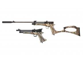 Vzduchová pistole SPA Artemis CP2 camo cal.5,5mm