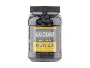 Kuličky T4E Rubber Ball Prac-Series cal.43 0,75g 500ks