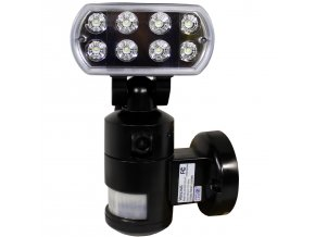 Nightwatcher LED bezpečnostní nahrávací osvětlení s Wifi - černá