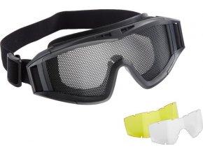 Brýle Combat Zone MG300 3x plexi
