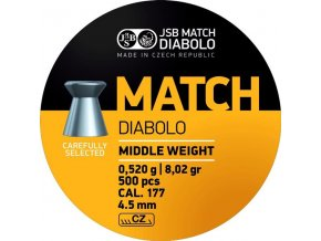 Diabolo JSB Match puška 500ks cal.4,49mm
