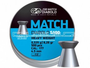 Diabolo JSB Match S100 500ks cal.4,51mm