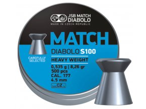 Diabolo JSB Match S100 500ks cal.4,5mm