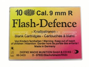 Flash Defence náboje 9mm revolver 10ks