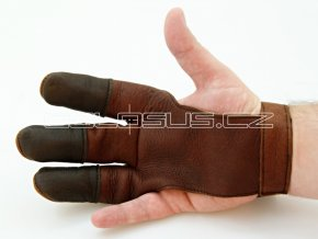 Lukostřelecká rukavice NAPA kožená vel. XS