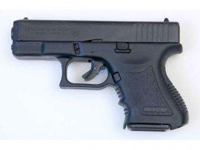 Plynová pistole Bruni MiniGAP černá cal.9mm
