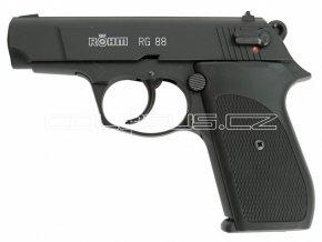 Plynová pistole Rohm RG88 černá cal.9mm
