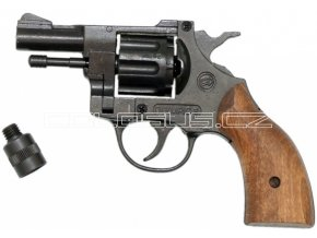 Plynový revolver Bruni Olympic 6 dřevo cal.6mm