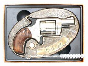 Plynový revolver Rohm Little Joe nikl/klip cal.6mm