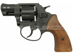 Plynový revolver Rohm RG59 černý cal.9mm