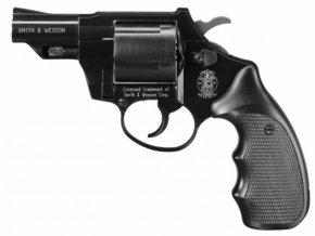 Plynový revolver Smith&Wesson Combat černý cal.9mm