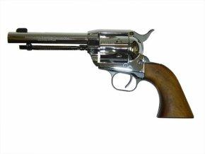 Plynový revolver Weihrauch Western steel cal.9mm