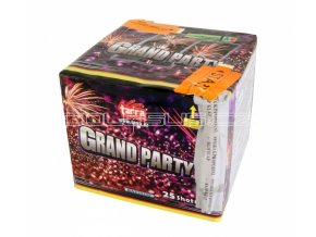 Pyrotechnika Kompakt 25ran / 25mm Grand Party