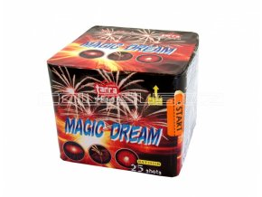 Pyrotechnika Kompakt 25ran / 25mm Magic Dream