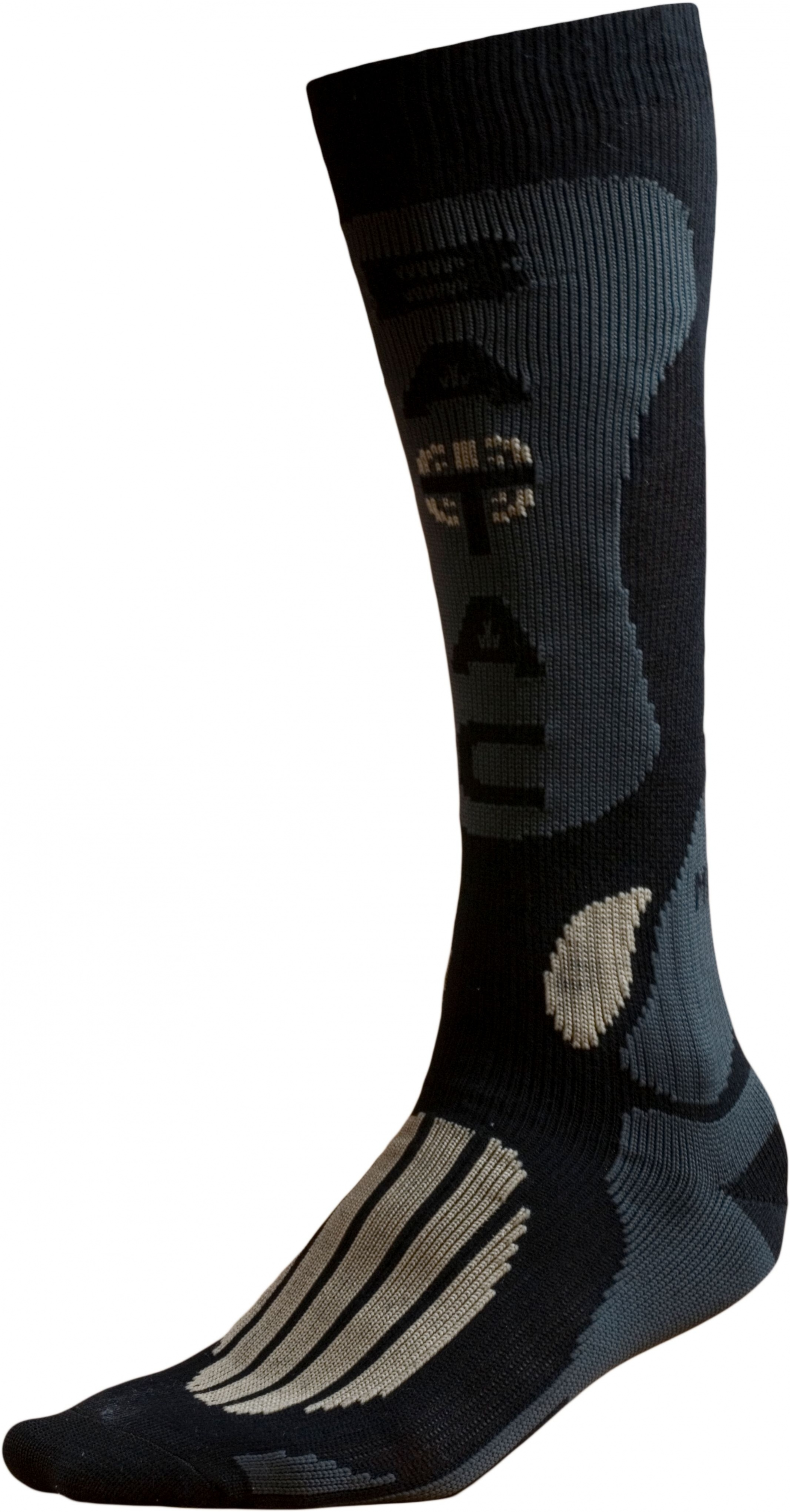 Ponožky BATAC Mission MI01 vel. 34-35 - black/gold