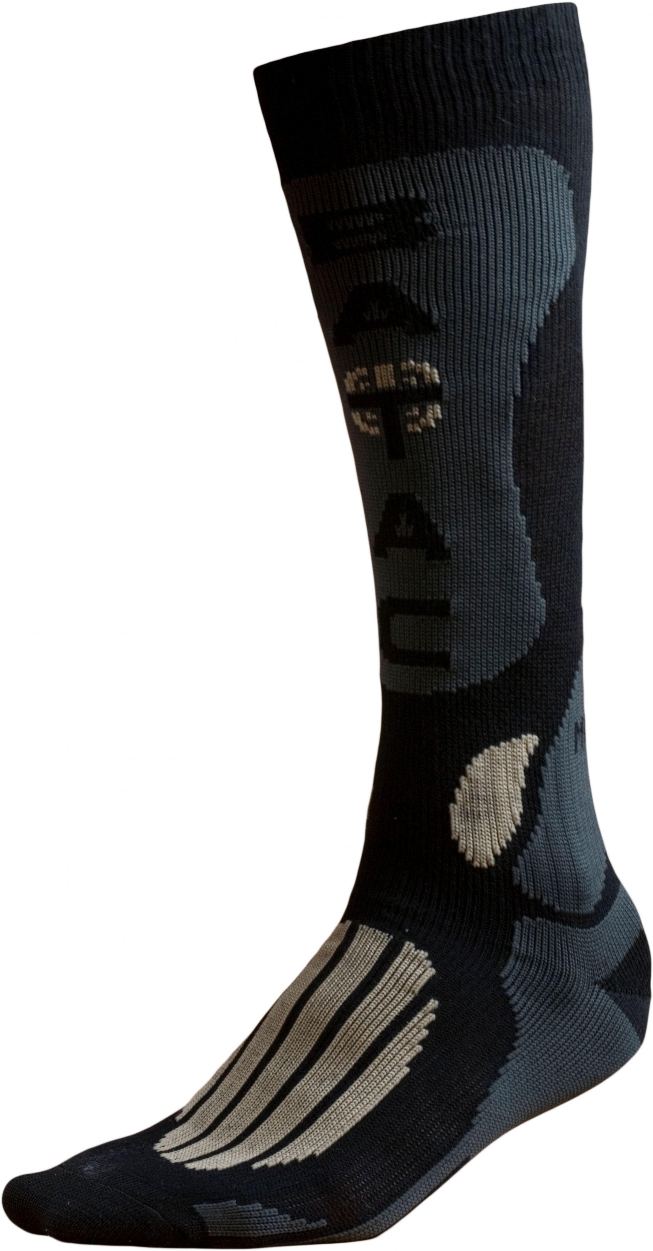 Ponožky BATAC Mission MI01 vel. 36-38 - black/gold