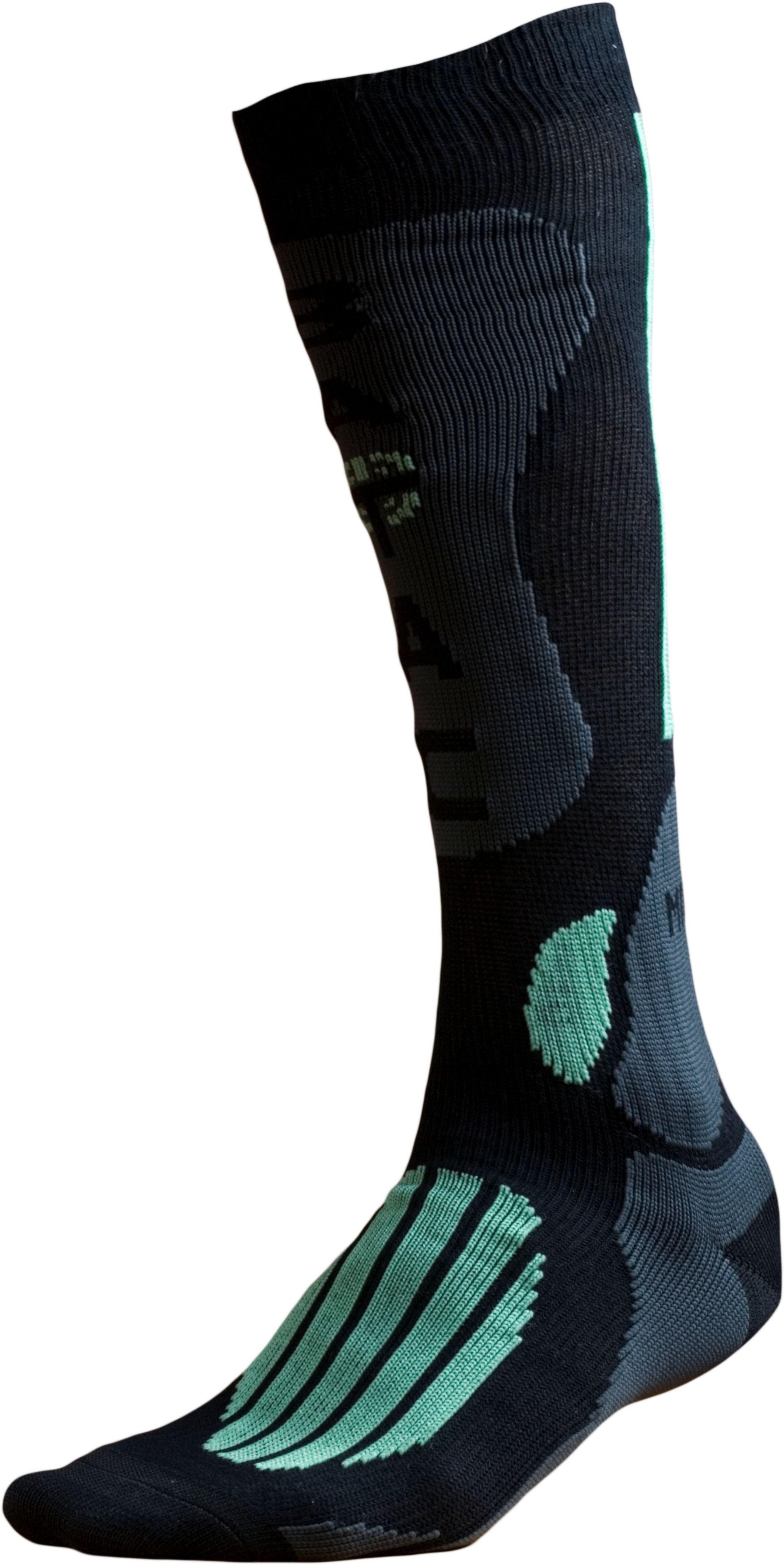 Ponožky BATAC Mission MI01 vel. 36-38 - black/green
