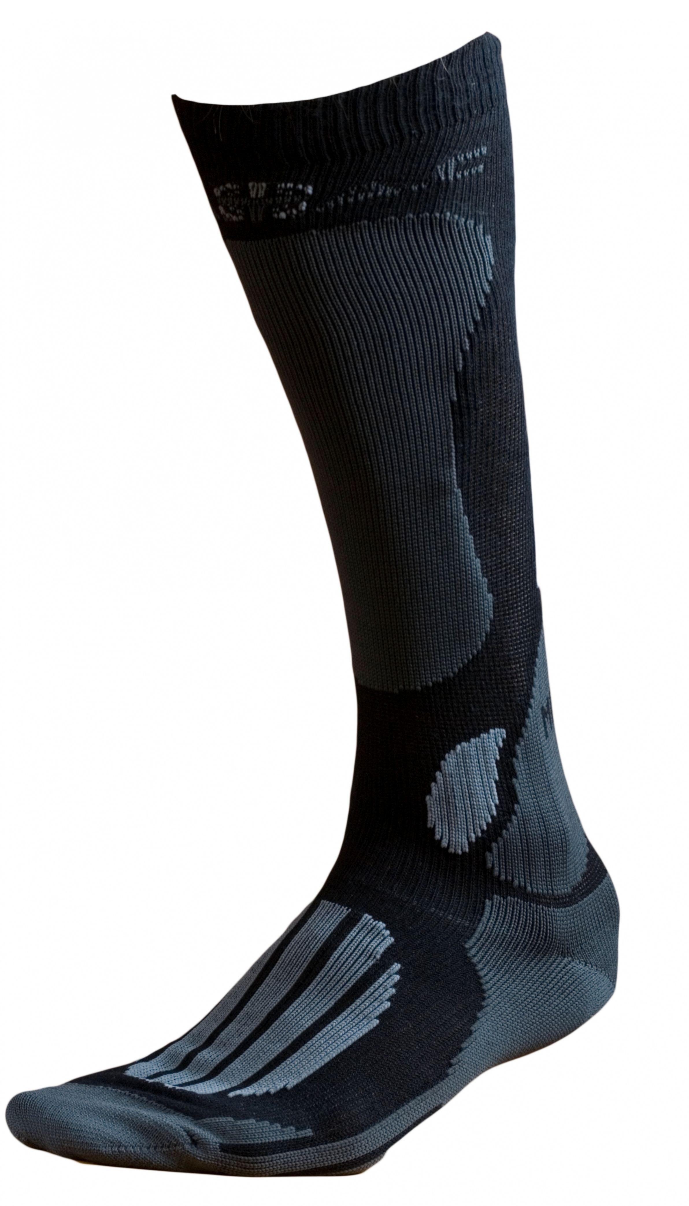 Ponožky BATAC Mission MI01 vel. 34-35 - black/grey