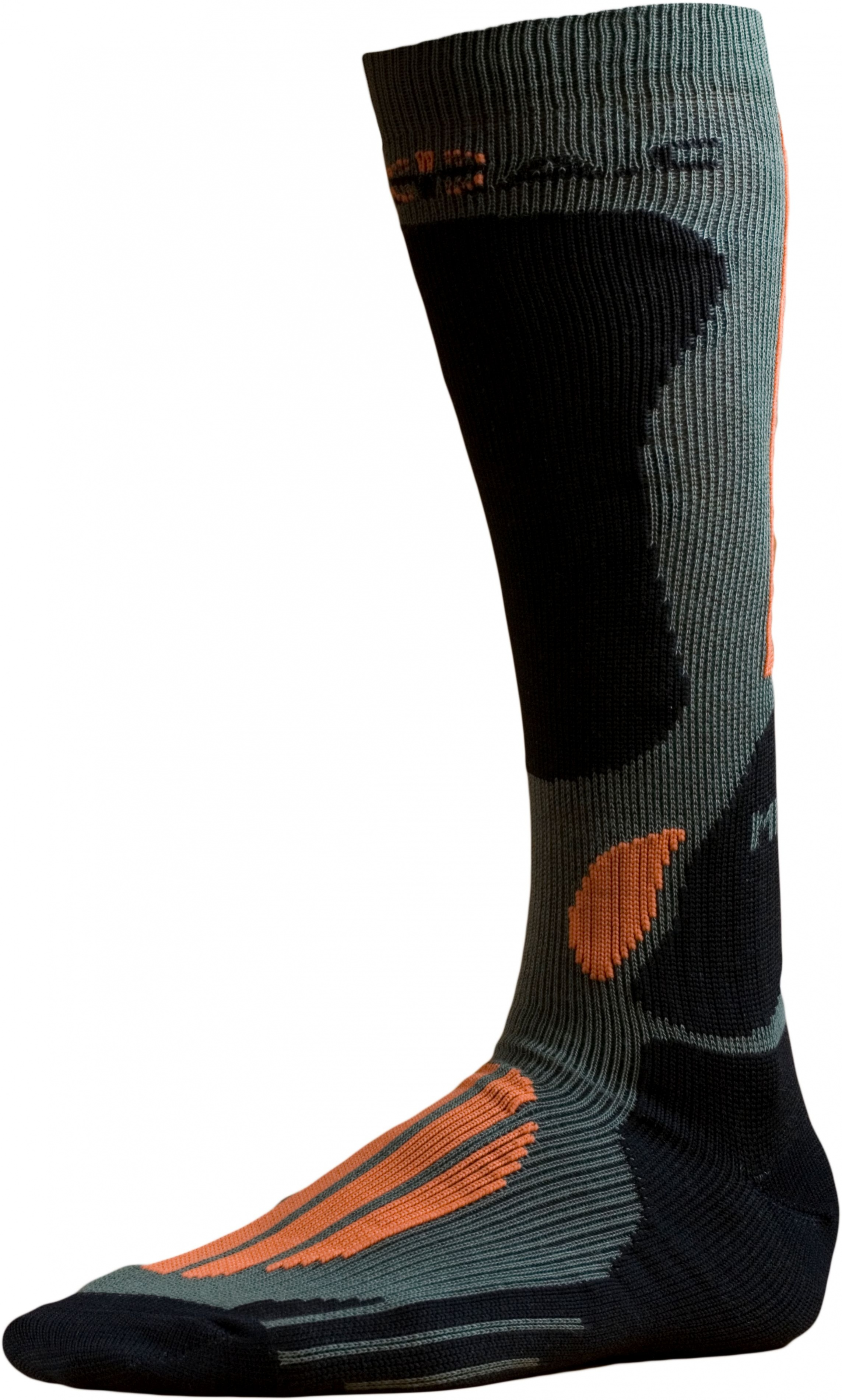 Ponožky BATAC Mission MI02 vel. 34-35 - olive/orange