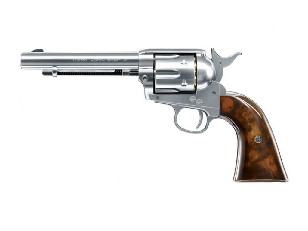 Airsoft revolver Legends Western Cowboy nikl