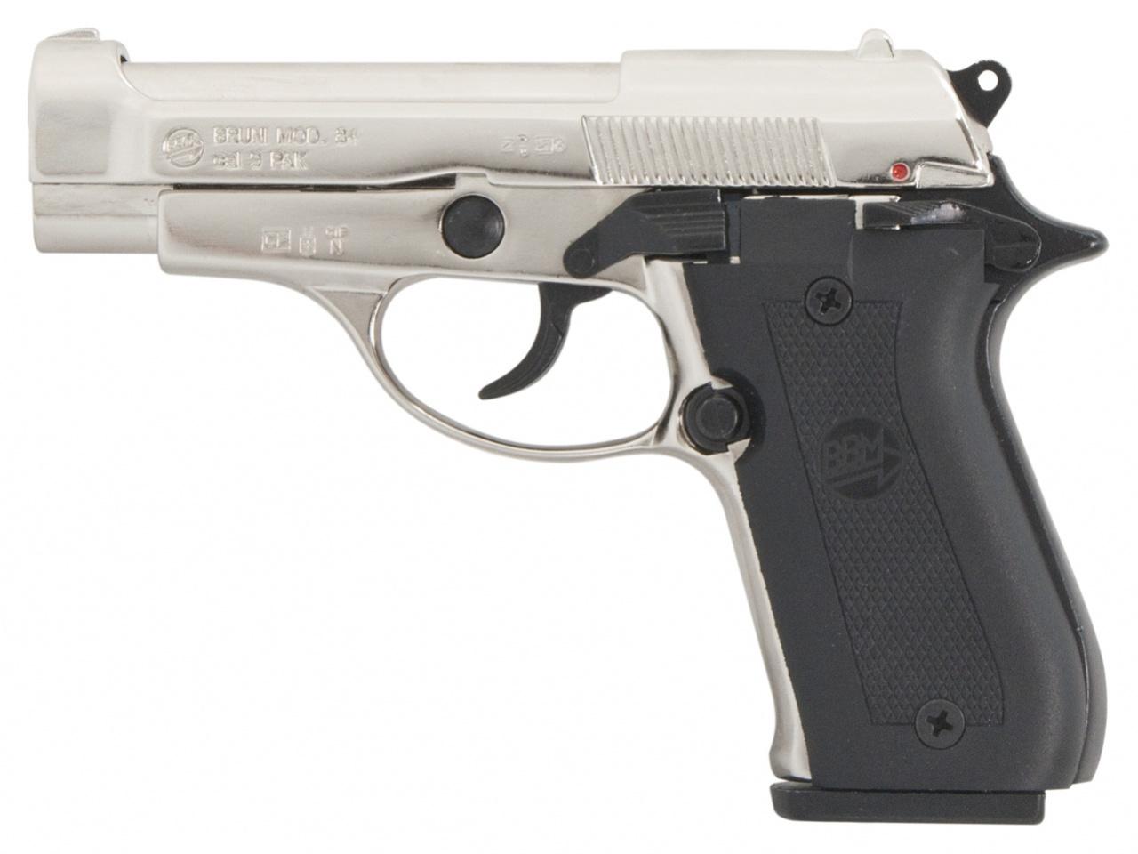 Plynová pistole Bruni 84 chrom cal.9mm