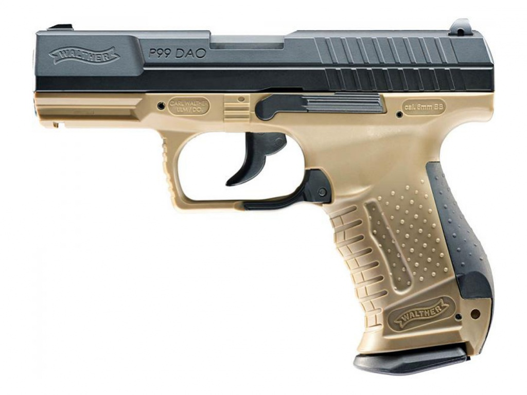 Airsoft pistole Walther P99 DAO RAL8000 AGCO2