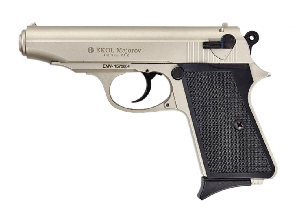 Plynová pistole Ekol Majarov satén cal.9mm