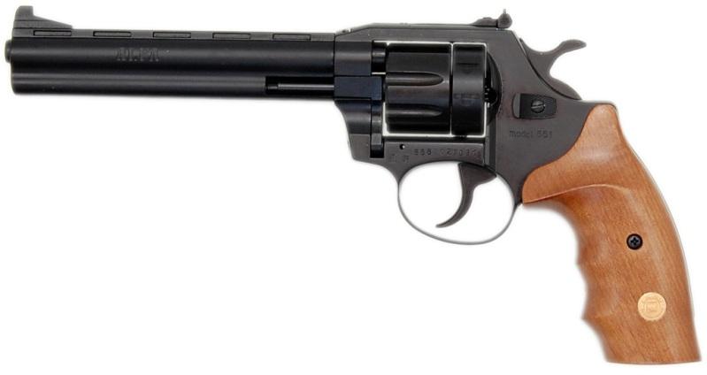 Flobertka ALFA 661 černý-dřevo cal: 6mm ME-Flobert