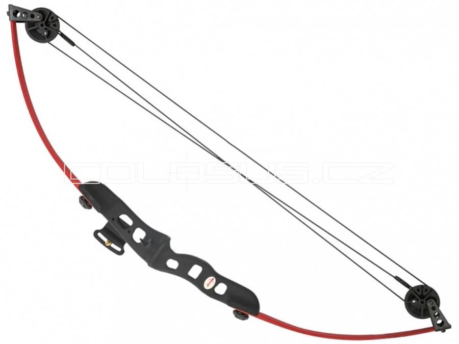 Luk Perfect Line Nova kladkový 25lb červený