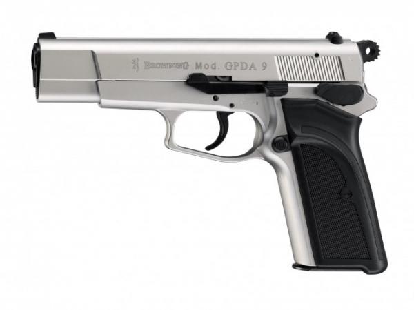 Plynová pistole Browning GPDA9 nikl cal.9mm