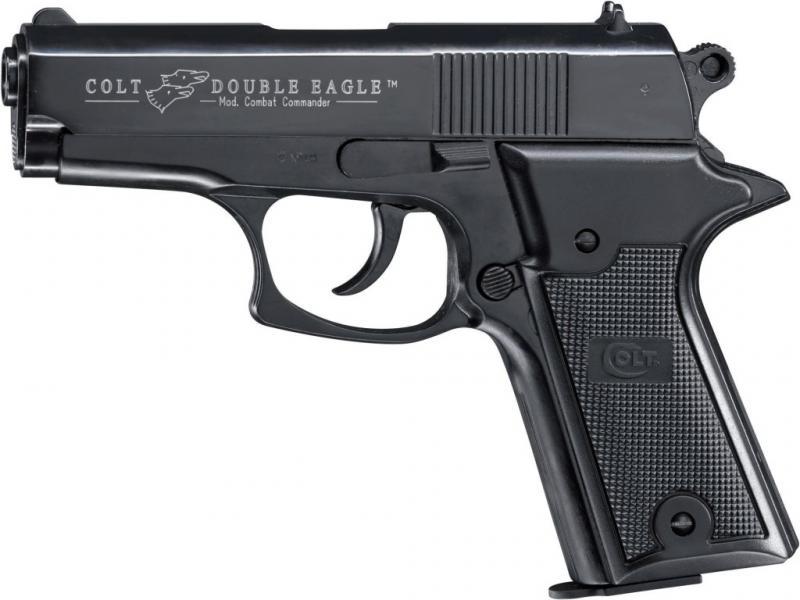 Plynová pistole Colt Double Eagle Combat Commander černý cal.9mm