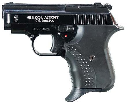 Plynová pistole Ekol Agent černá cal.9mm