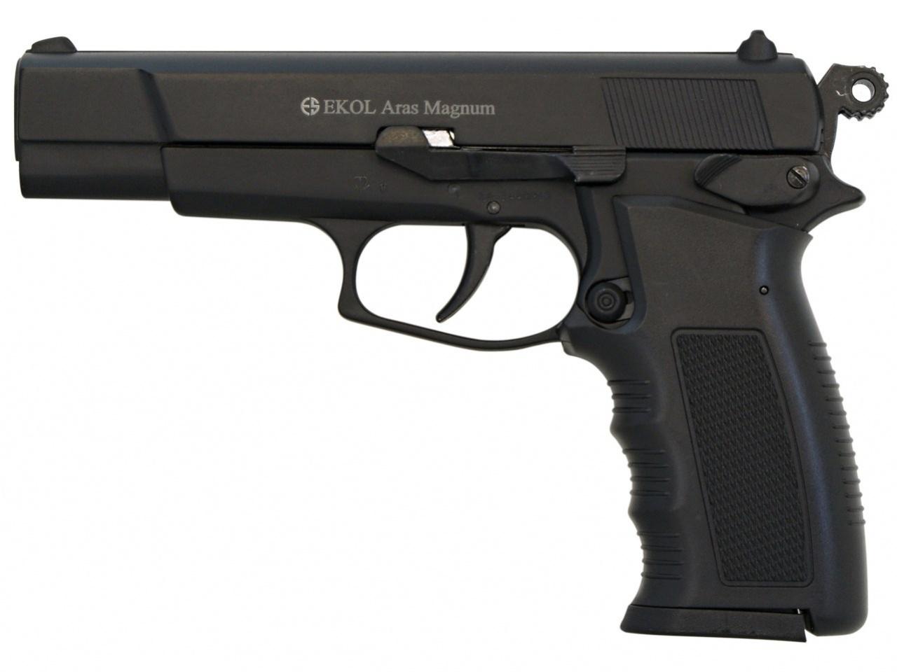Plynová pistole Ekol Aras Magnum černá cal.9mm