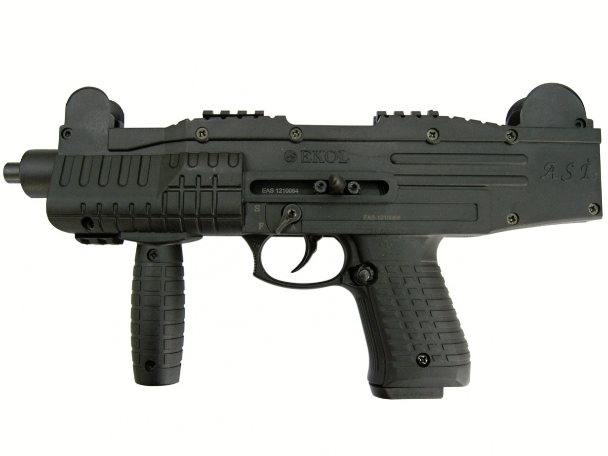 Plynová pistole Ekol ASI černá cal.9mm
