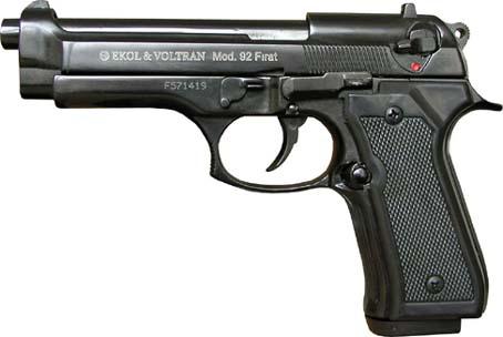Plynová pistole Ekol Firat 92 černá cal.9mm