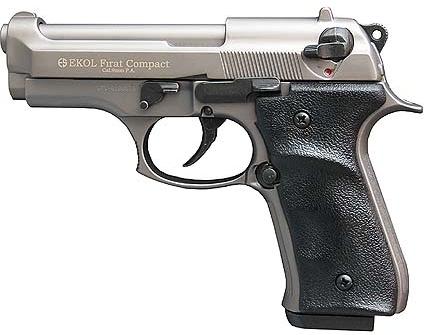 Plynová pistole Ekol Firat Compact titan cal.9mm