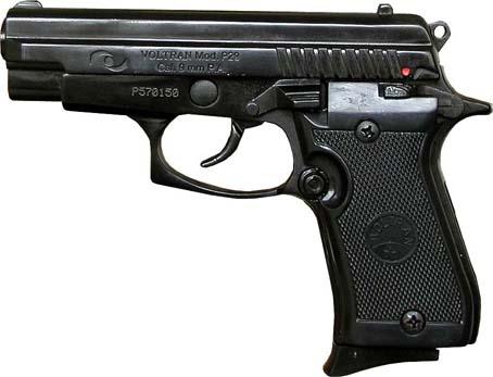 Plynová pistole Ekol P29 černá cal.9mm