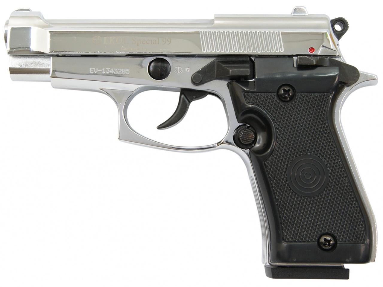 Plynová pistole Ekol Special 99 chrom cal.9mm