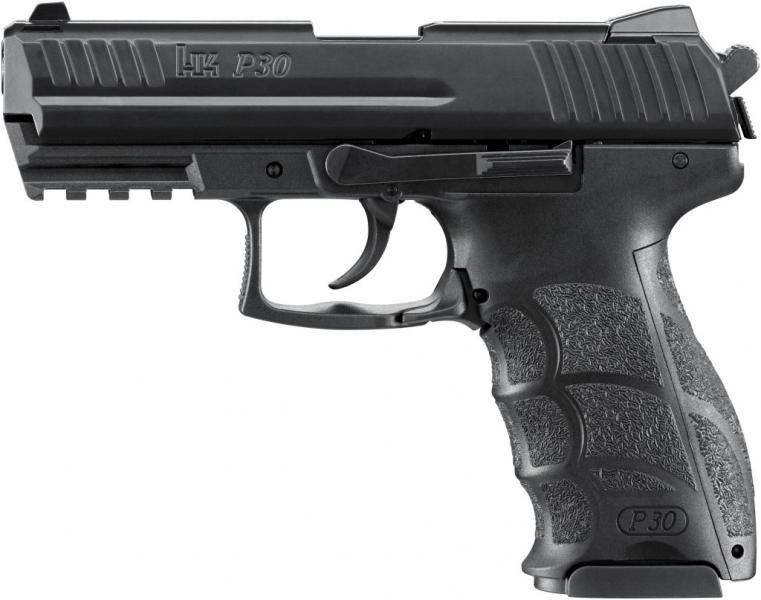 Plynová pistole Heckler&Koch P30 černá cal.9mm