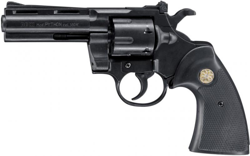 Plynový revolver Reck Python černý cal.9mm