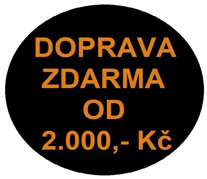 ZA NÁKUP NAD 2.000,- DOPRAVA ZDARMA