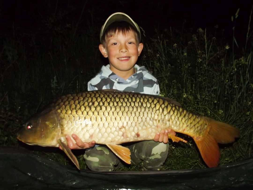 Den dětí strávili na rybách