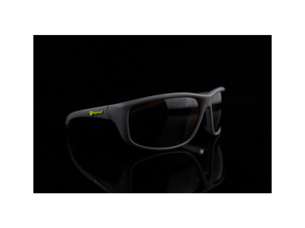 RidgeMonkey Sluneční brýle PolaFlex - Temně bronzová