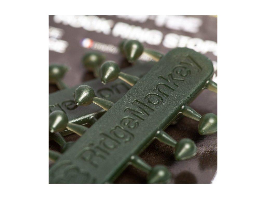 RidgeMonkey RM Tec Hook Ring Stops gumové stoppery - velké (vel.háčku 1 až 4)
