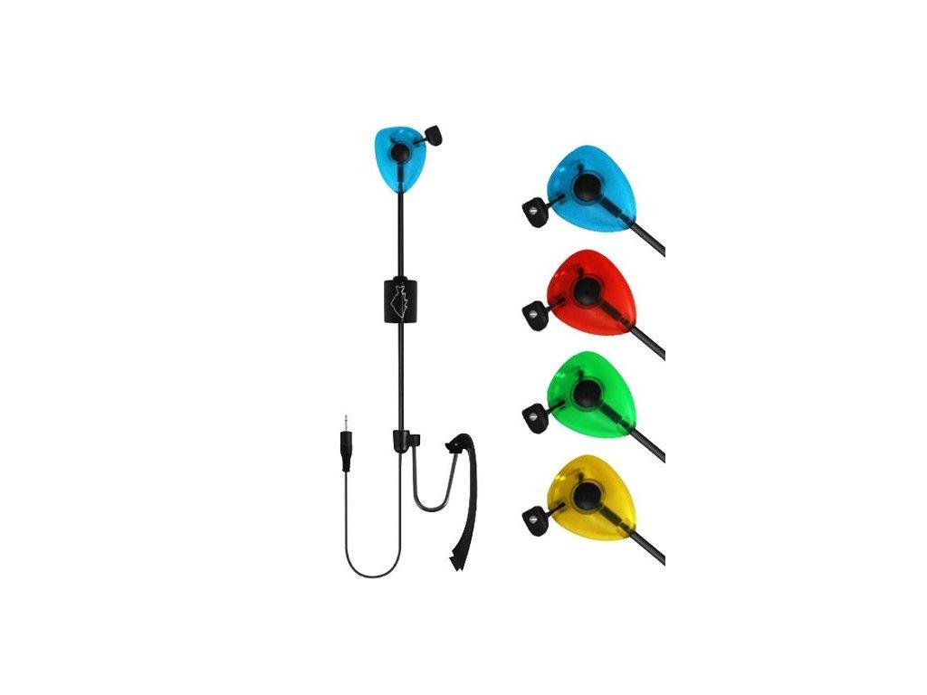 Signalizátor záběru Delphin SKIPER - zelený