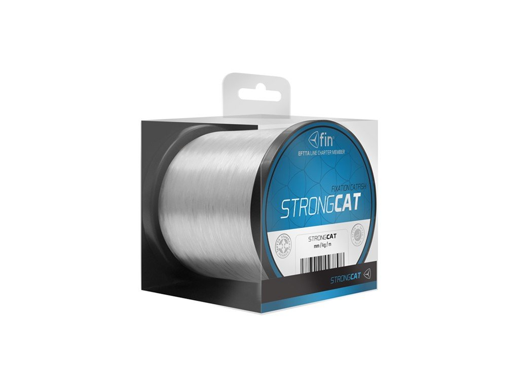Delphin FIN Strong CAT - 350m / transp., 0,60mm 45,1lbs