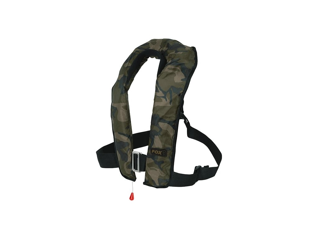Fox Samonafukovací vesta Camo Automatic Life Jacket